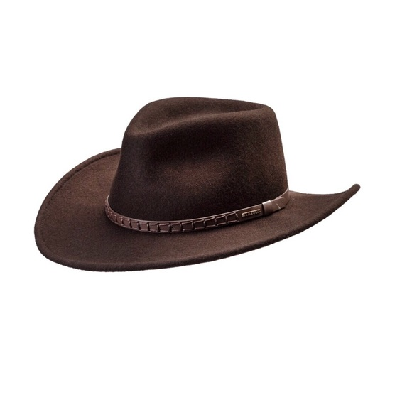 STETSON CRUSHABLE COWBOY HAT size small. M 5b33c62d4ab633b69d531b42 0359073b057